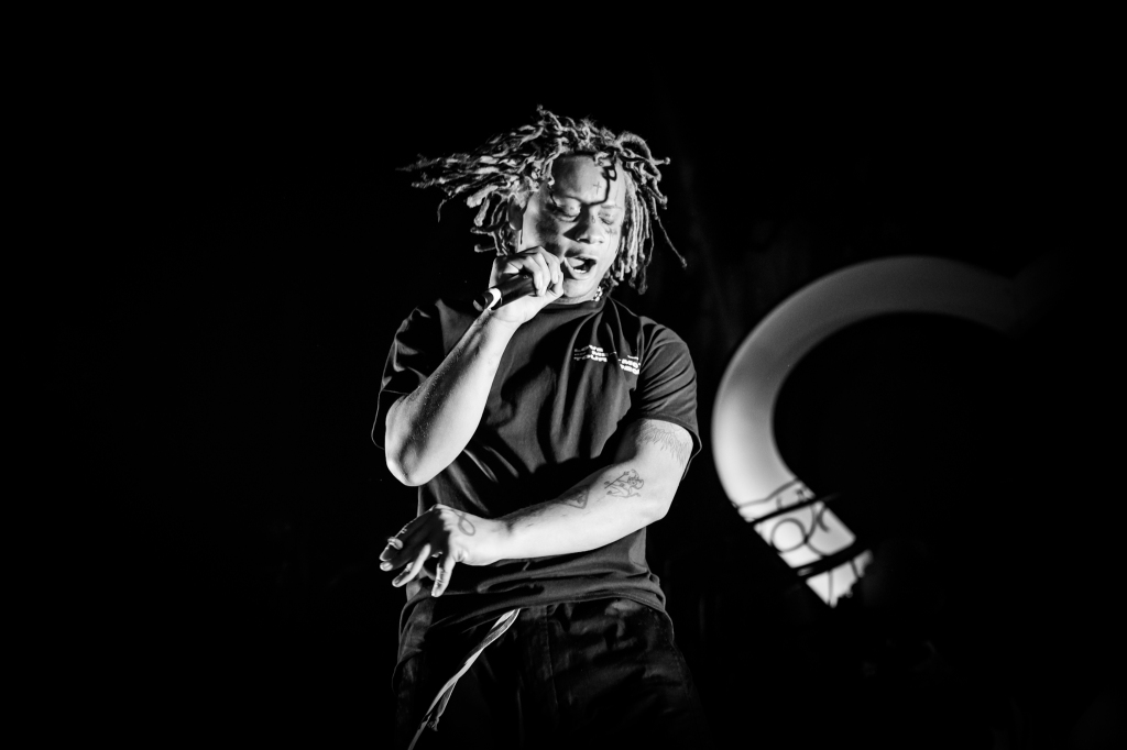 Trippie Redd performs at Terminal 5 in New York City on February 23, 2020. Shot by Jim Michaels for Early Bird Music.