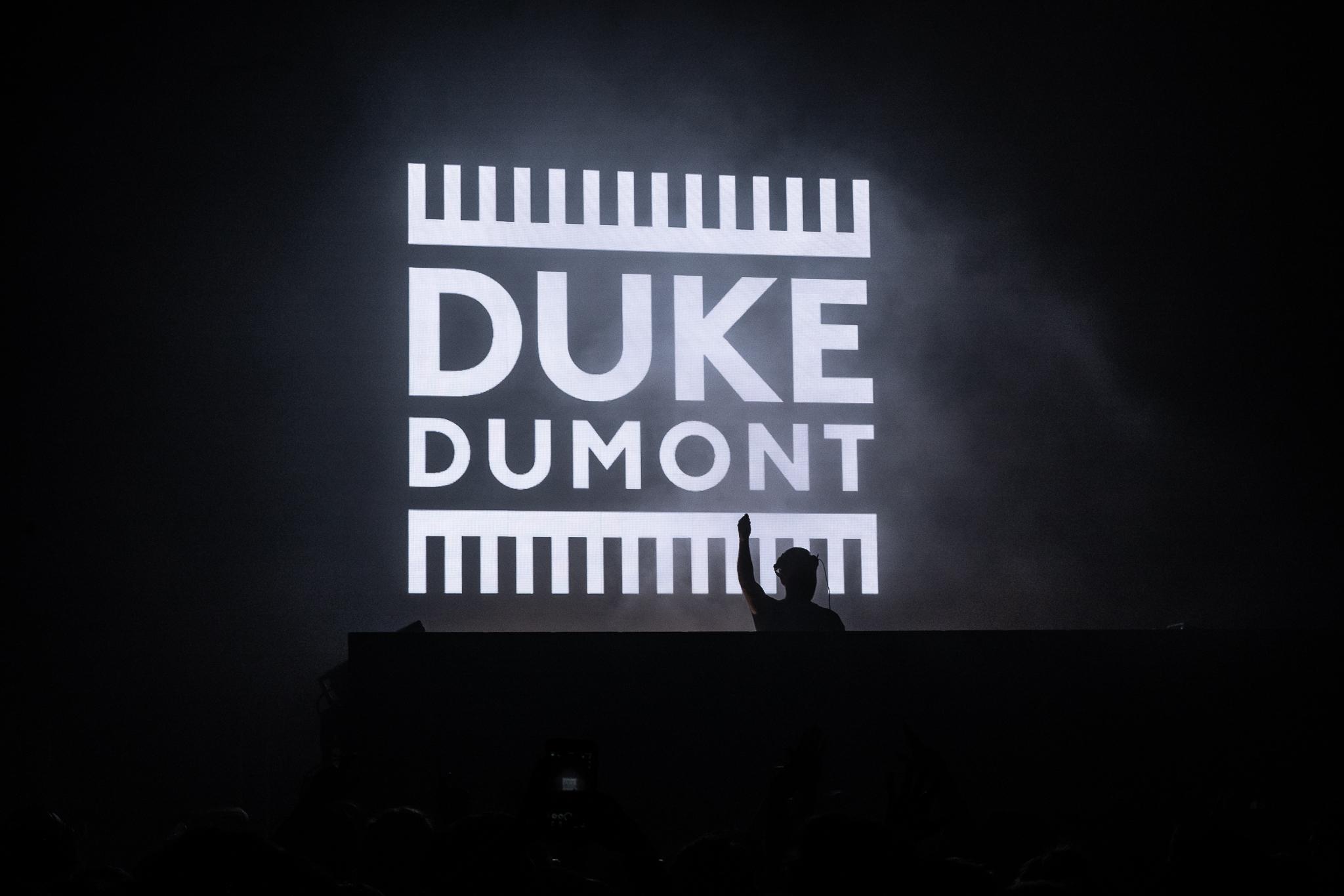 Duke Dumont performed at Avant Gardner Great Hall on November 9th.