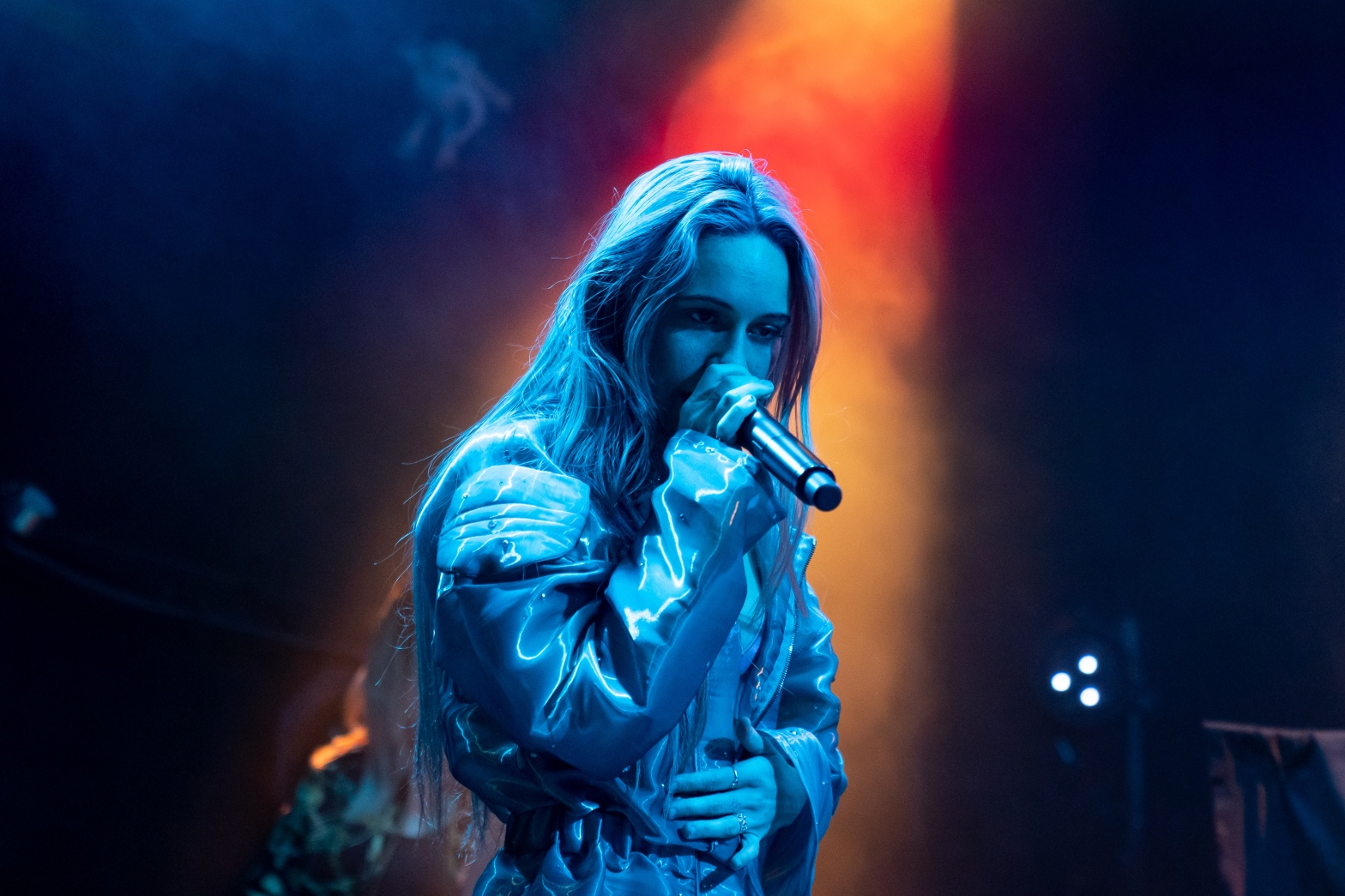 "Photo of Bea Miller performing live at Bowery Ballroom on her ""Nice To Meet U"" Headlining Tour"