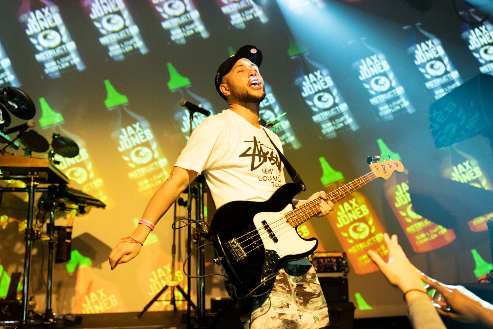 Photo of Jax Jones performing live at Elsewhere in Brooklyn on April 20, 2019