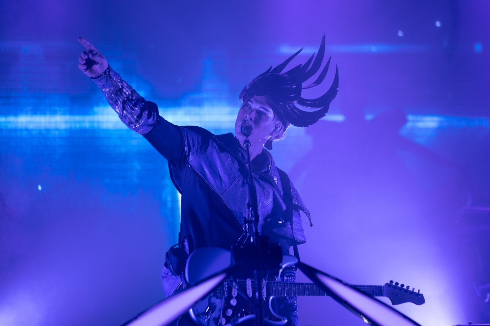 This is a photo of Empire of the Sun's third show at the newly renovated Webster Hall on June 8th, 2019.