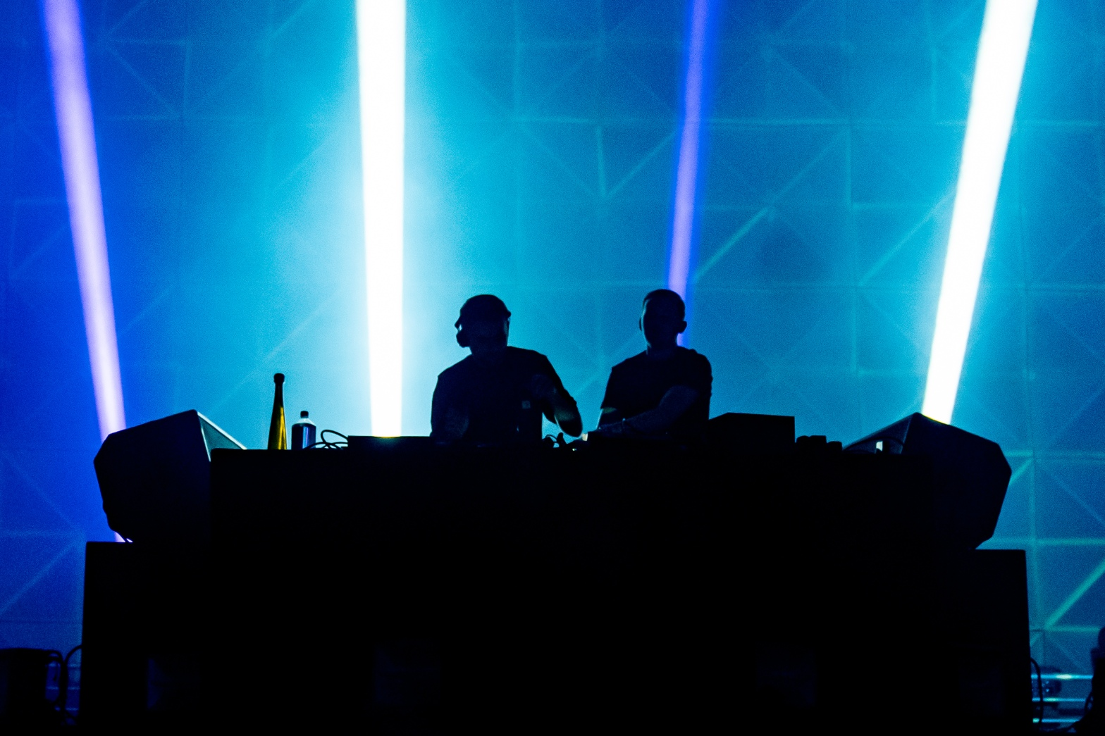 This is a photo of Disclosure at Brooklyn Mirage / Avant Gardner in Brooklyn, NY on their 2019 US Tour.
